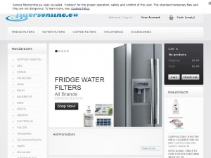 Solid filtering accessories for Samsung refrigerators